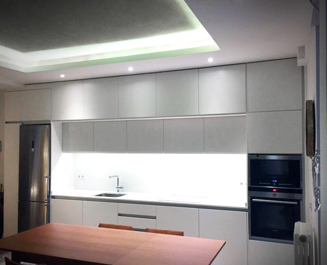 Cinacook for Muebles de cocina hasta el techo